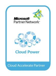 Microsoft Cloud Accelerate Partner Logo