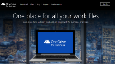 OneDrive for Business Banner