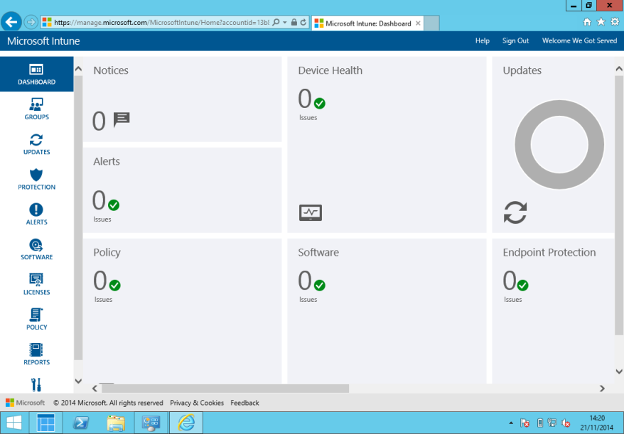 Intune Dashboard