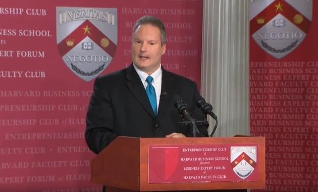 Kevin Fream Harvard Featured Speaker