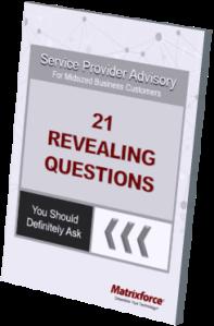 Service Provider Advisory
