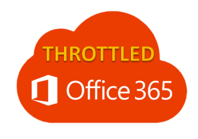 Office 365 Throttled